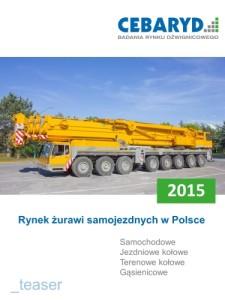 Raport Rynek żurawi samojezdnych w Polsce 2015
