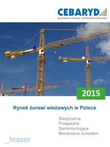 Raport: Rynek żurawi wieżowychw Polsce 2015