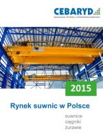 Raport: Rynek suwnic w Polsce 2015